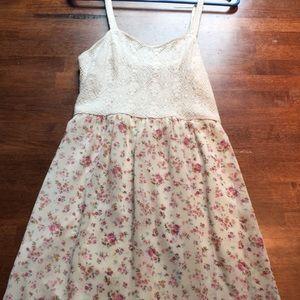 Mossimo Print Long Dress
